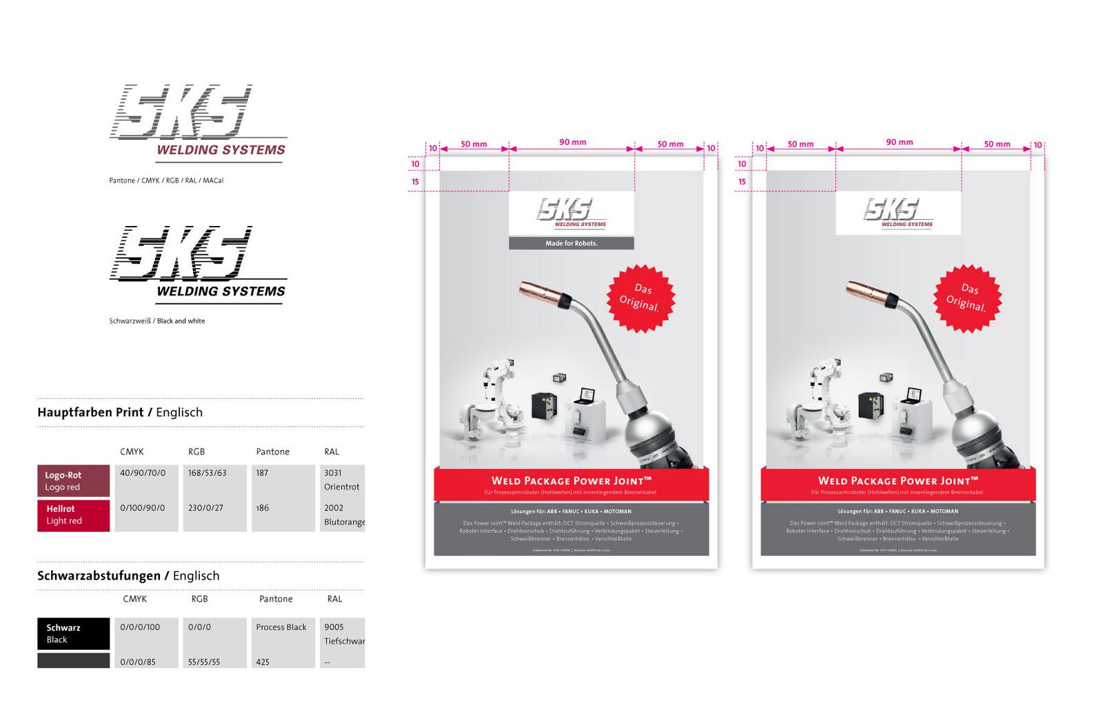 SKS Weldig Systems –Branding