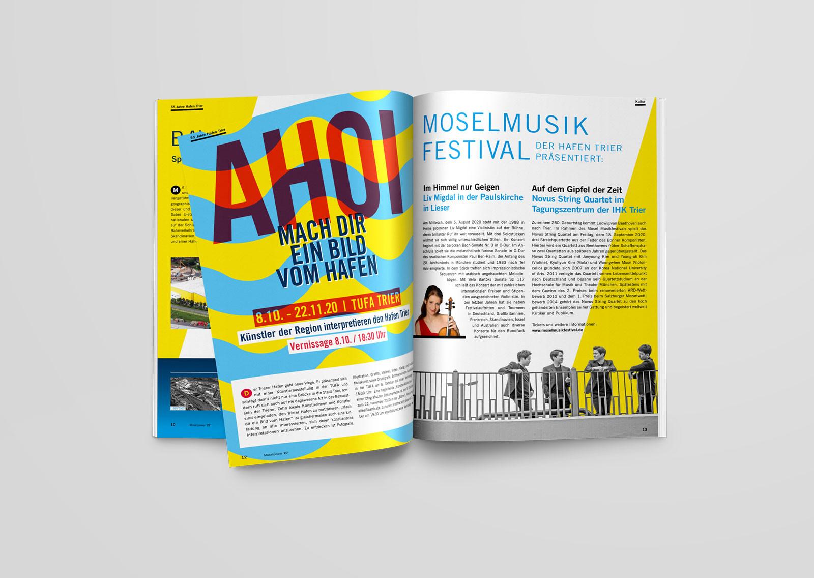 Abbildung Artikel zur Ausstellung Ahoi