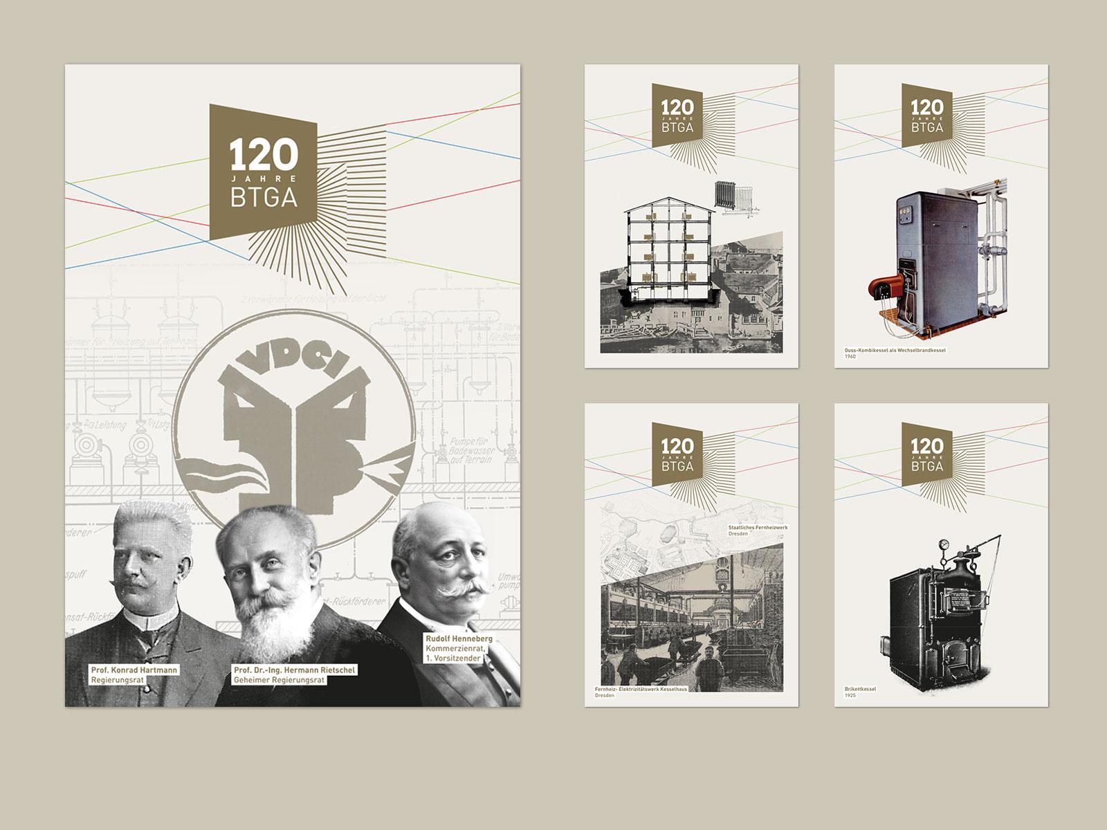 BTGA Plakate 120 Jahre Gala