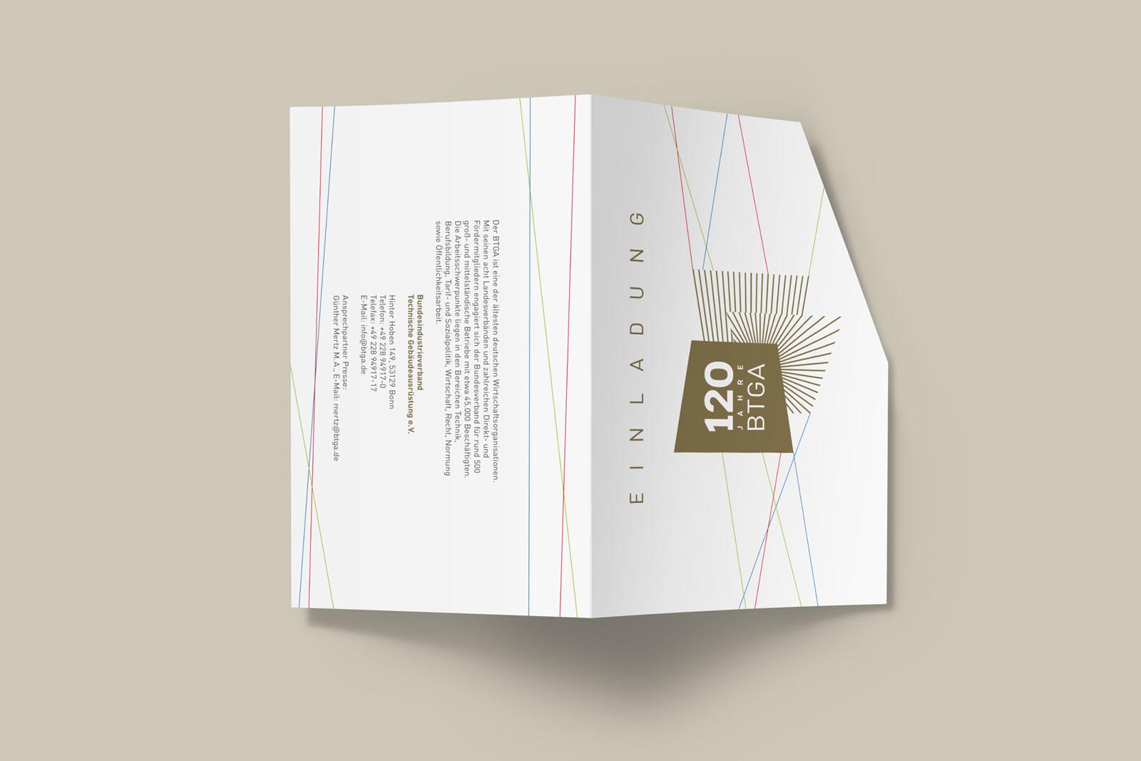 Einladungskarte BTGA